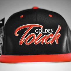 Golden Touch snapback red