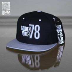 Golden Touch snapback grey black